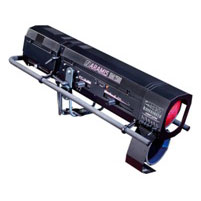 Aramis-2500, световые пушки, аренда световой пушки
