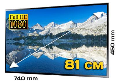 Плазменная панель 32 дюйма для презентаций