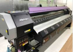 Печать баннеров на Mimaki SWJ-320 S4